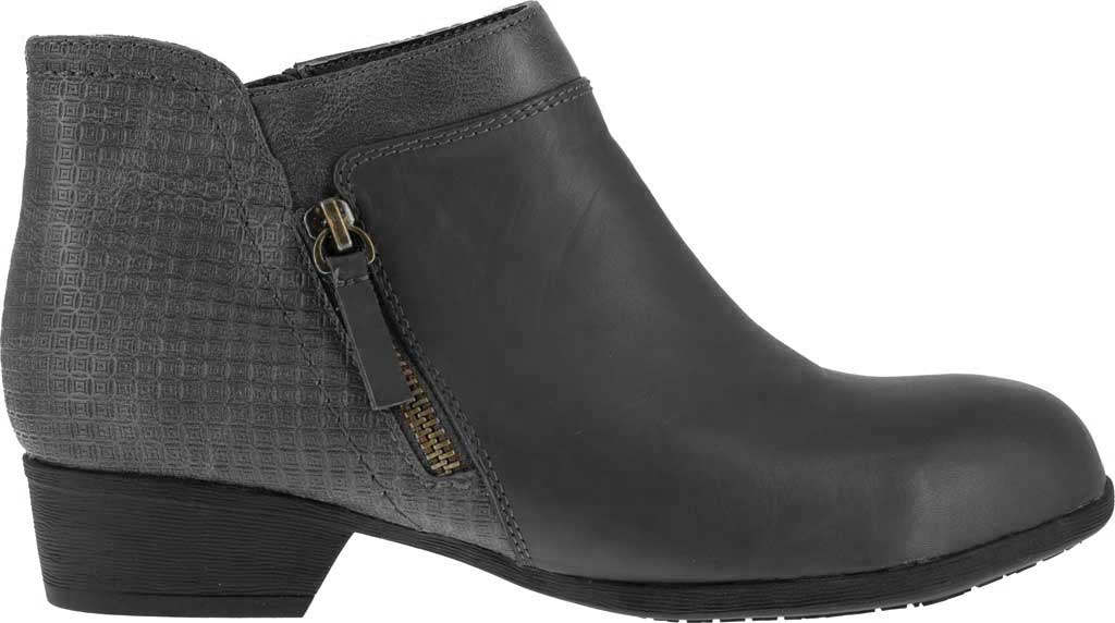 Women's Rockport Works RK751 Carly Alloy Toe Work Boot, Black Leather, large, image 2