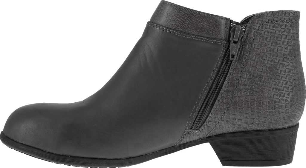 Women's Rockport Works RK751 Carly Alloy Toe Work Boot, Black Leather, large, image 3