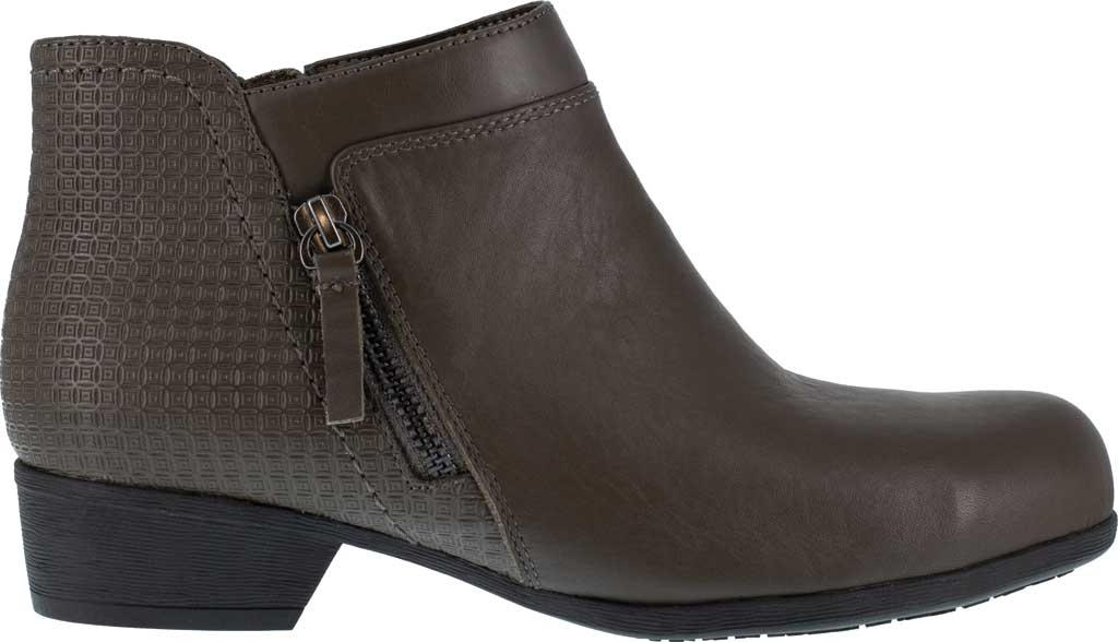 Women's Rockport Works RK753 Carly Alloy Toe Work Boot, Brown Leather, large, image 2