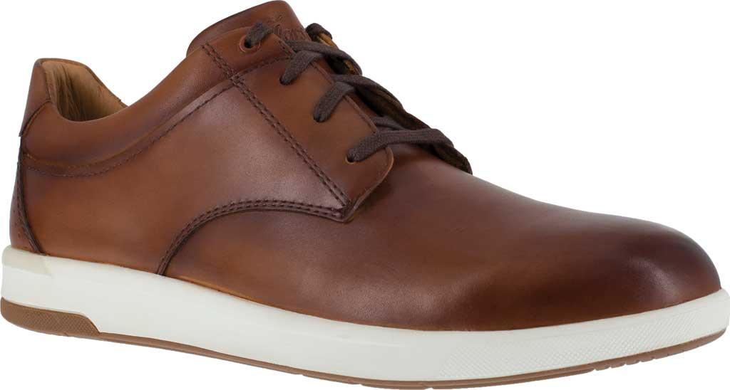 Men's Florsheim Work FS2650 Crossover Sneaker, Cognac Smooth Leather, large, image 1