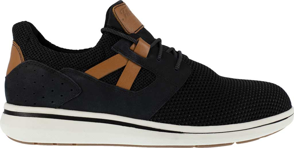 Men's Florsheim Work FS2472 Adventure Sneaker, Black Knit, large, image 2