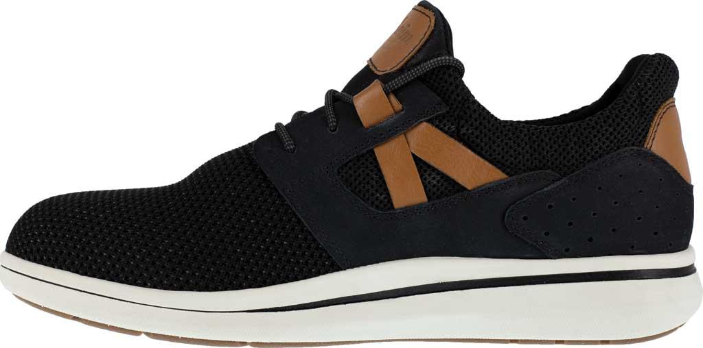 Men's Florsheim Work FS2472 Adventure Sneaker, Black Knit, large, image 3