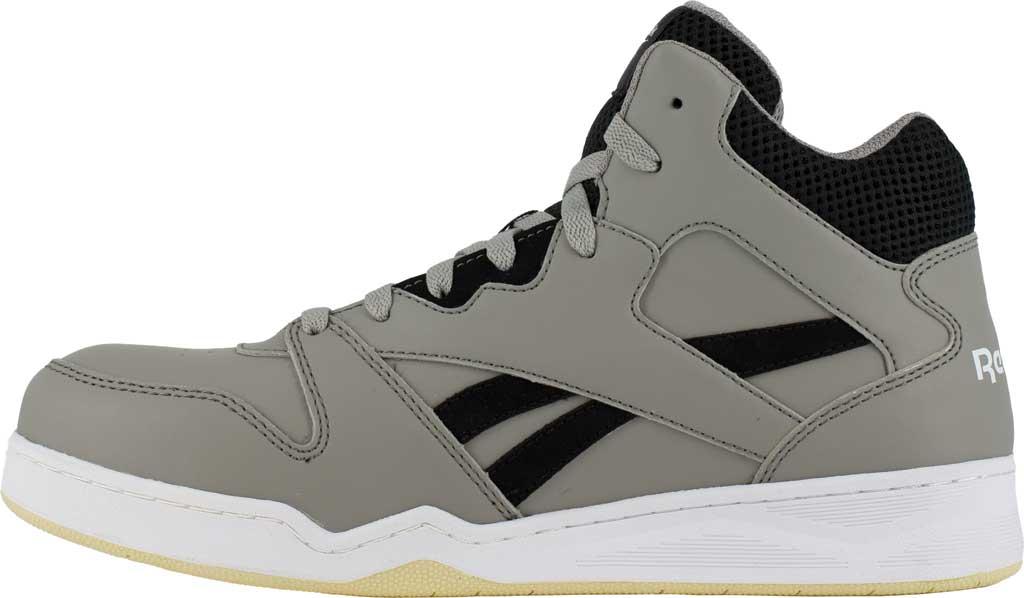 Men's Reebok Work RB4136 BB4500 Composite Toe Work Shoe, Grey/Black Mesh/Leather, large, image 3