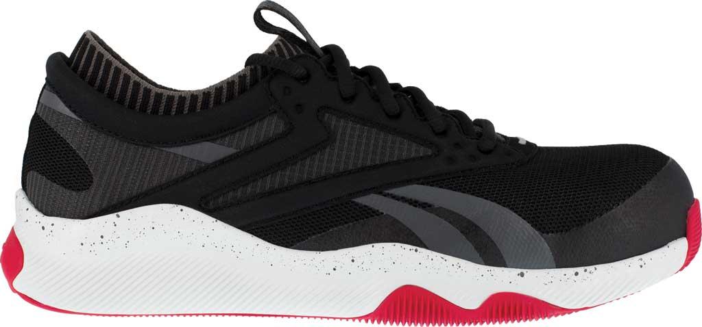 Men's Reebok Work RB4080 HIIT TR Composite Toe Work Shoe, Black/Red Mesh, large, image 2