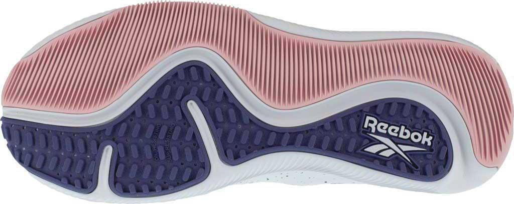 Women's Reebok Work RB481 HIIT TR Composite Toe Work Shoe, Blue/Pink Mesh, large, image 4