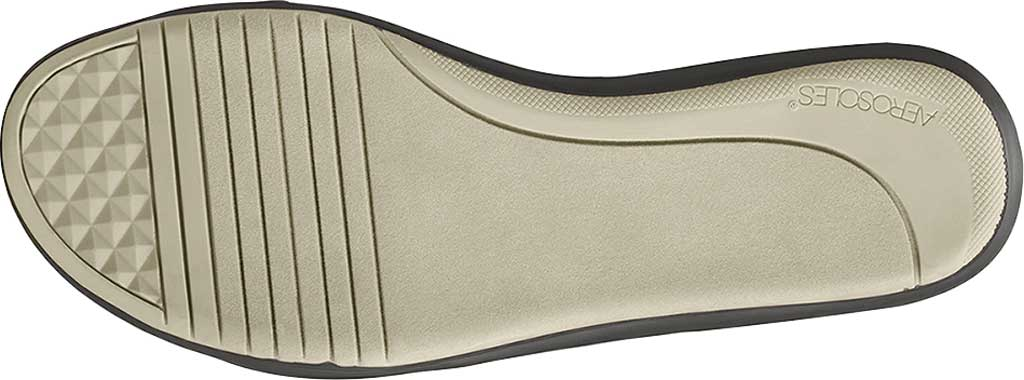Women's Aerosoles Watch Box Flat Sandal, Grey Faux Leather/Elastic, large, image 6