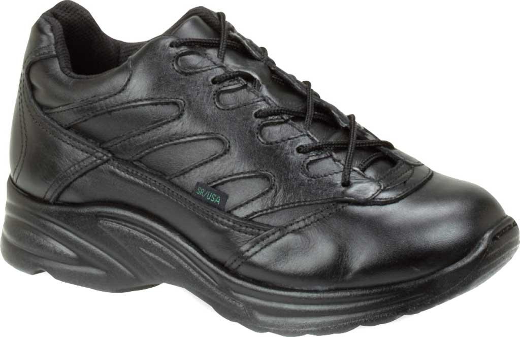 Women's Thorogood Liberty Oxford Work Shoe 534-6932, Black Full Grain Leather, large, image 1