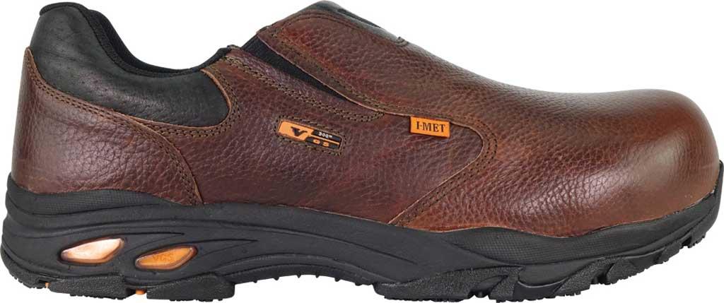 Thorogood I-Met Slip On Work Shoe 804-4320, Brown Full Grain Leather, large, image 2