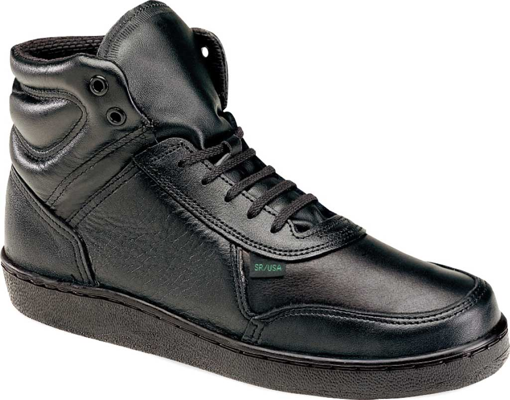 Women's Thorogood Code 3 Mid Cut Tactical & Military Boot 534-6555, Black Full Grain Leather, large, image 1