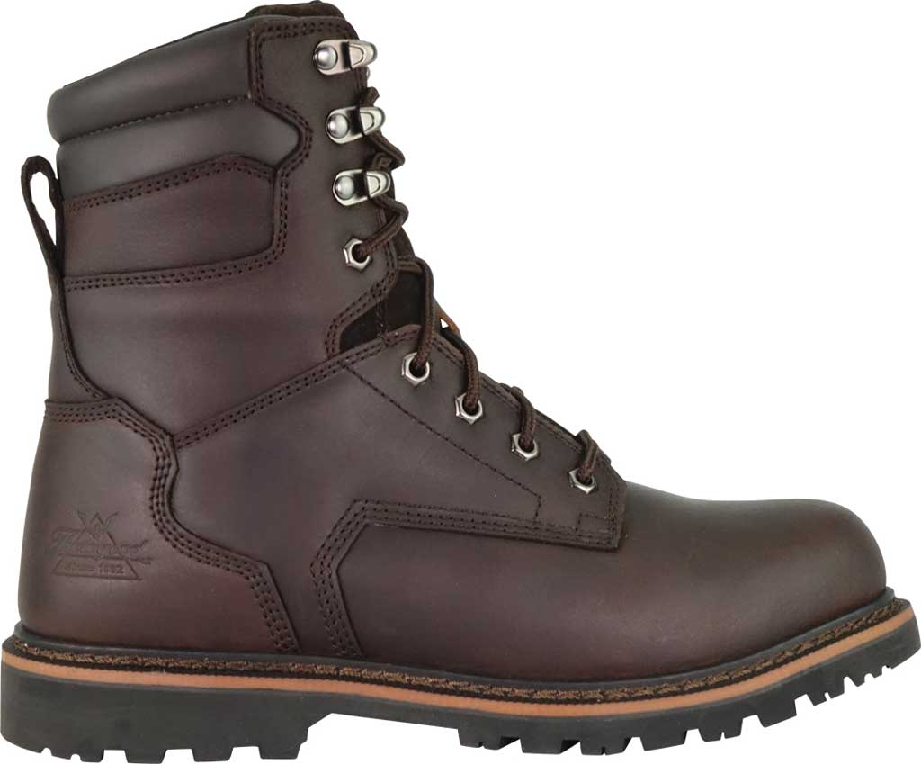 """Thorogood 8"""" Safety Steel Toe Boot 804-4279, Brown Oiled Nubuck, large, image 2"""