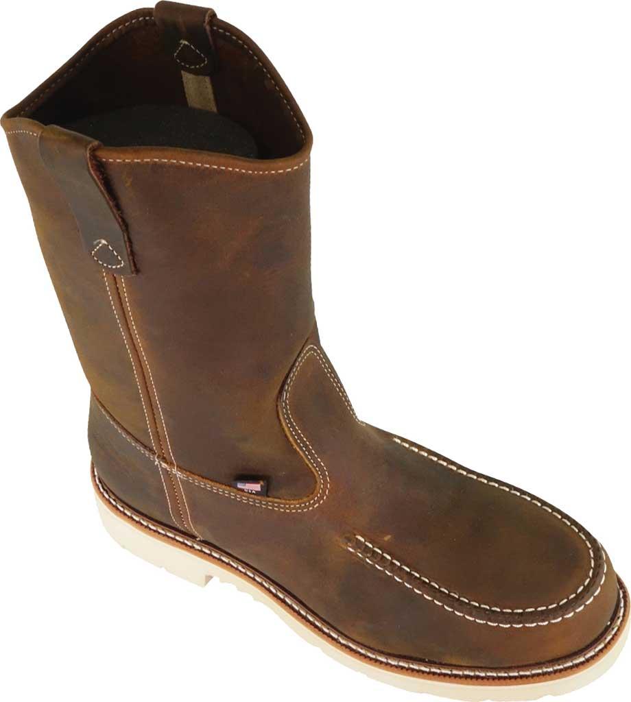 "Men's Thorogood 11"" Moc Toe Wellington Boot 804-3311, Crazy Horse Full Grain Leather, large, image 1"