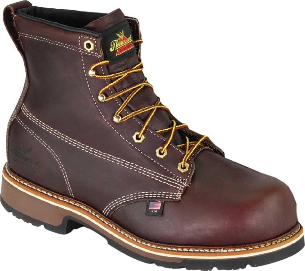 "Men's Thorogood 6"" Emperor Composite Toe Boot 804-4367, Black Walnut Full Grain Leather, large, image 1"