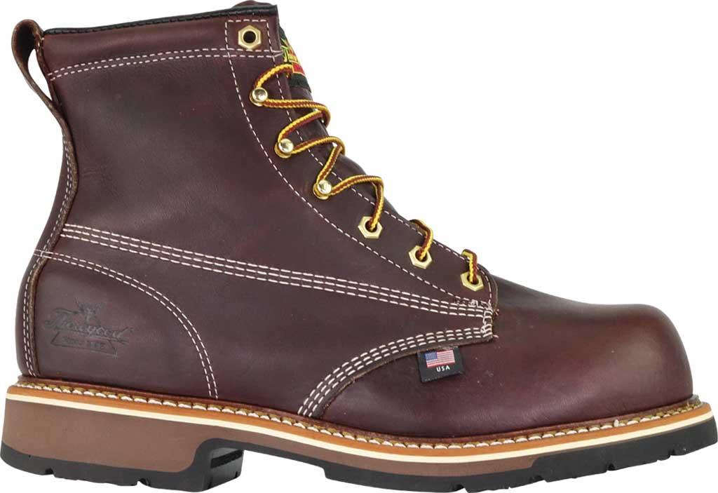 "Men's Thorogood 6"" Emperor Composite Toe Boot 804-4367, Black Walnut Full Grain Leather, large, image 2"