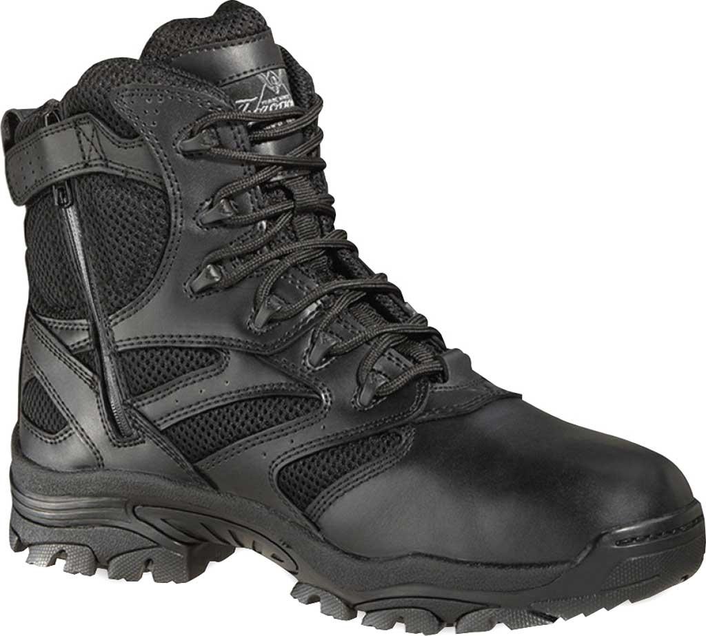 "Thorogood 6"" Deuce Side Zip Composite Toe Boot 804-6190, Black Full Grain Leather, large, image 1"
