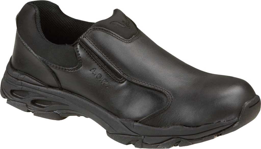 Thorogood Slip-On Composite Toe Work Shoe 804-6520, Black Full Grain Leather, large, image 1