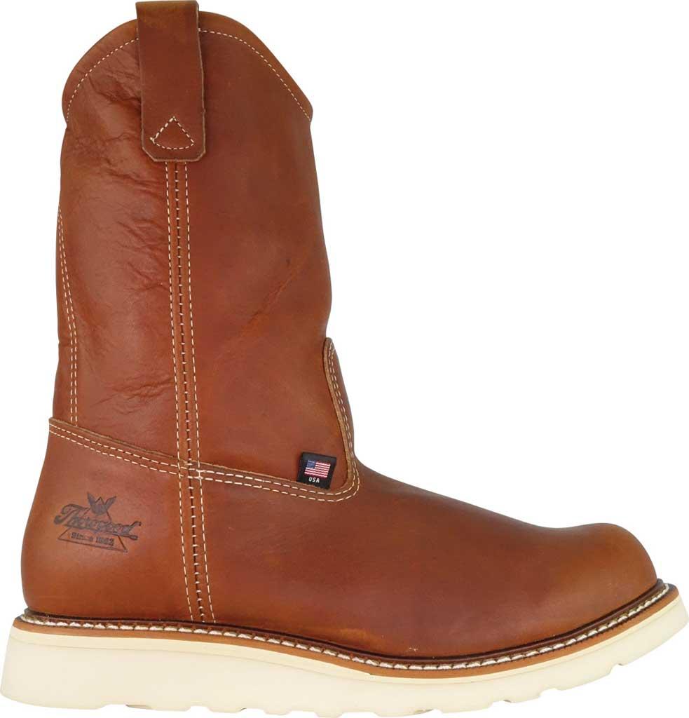 "Men's Thorogood 11"" Wellington Boot 814-4208, Tobacco Full Grain Leather, large, image 2"