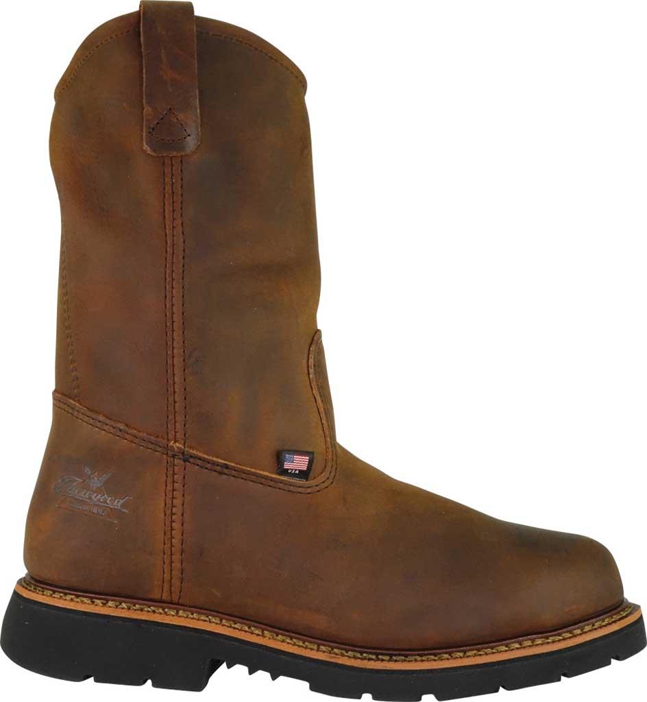 "Men's Thorogood 11"" Wellington Steel Toe Boot 804-3310, Trail Crazy Horse Full Grain Leather, large, image 2"
