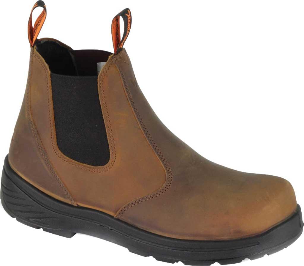 "Men's Thorogood 6"" Thoro-Flex Pull-On Chelsea Boot 804-3166, Trail Crazy Horse Full Grain Leather, large, image 1"