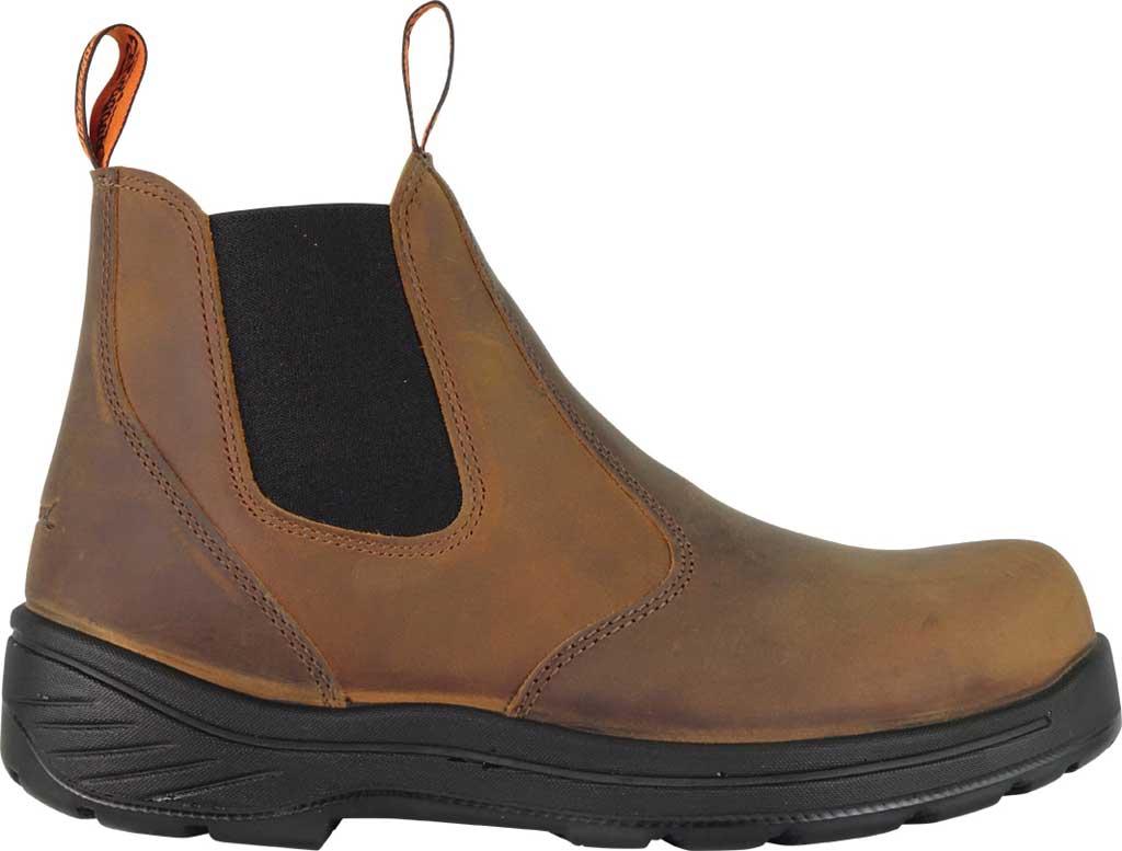 "Men's Thorogood 6"" Thoro-Flex Pull-On Chelsea Boot 804-3166, Trail Crazy Horse Full Grain Leather, large, image 2"