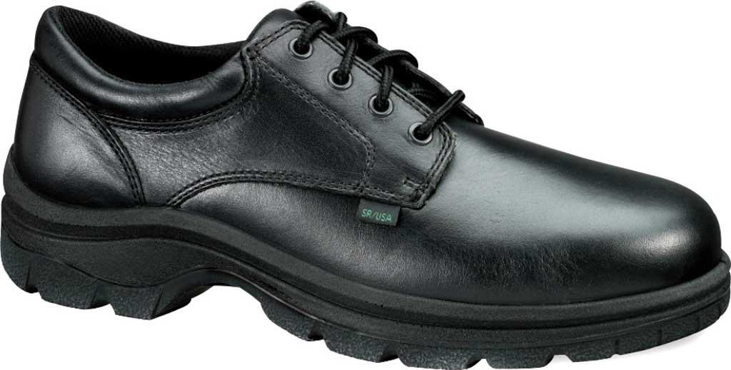 Men's Thorogood Soft Streets Oxford 834-6905, Black Full Grain Leather, large, image 1