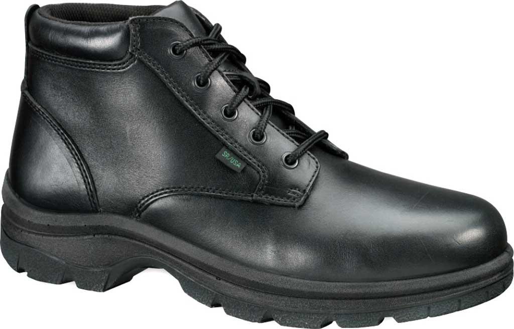 Men's Thorogood Soft Streets Chukka Boot 834-6906, Black Full Grain Leather, large, image 1