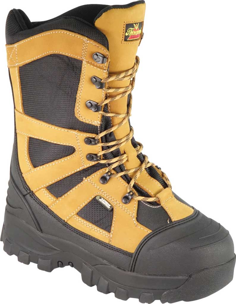 Men's Thorogood Endeavor Extreme Waterproof Boot 861-4071, Tan Leather, large, image 1