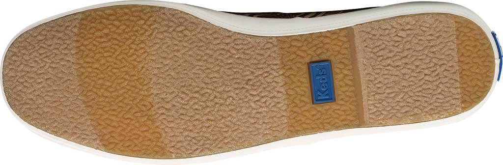 Women's Keds Champion Organic Cotton Ripple Floral Sneaker, Burgundy Organic Cotton, large, image 6