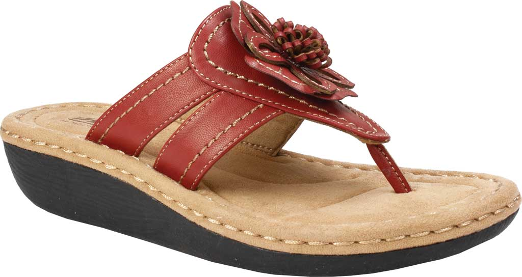 Women's Cliffs by White Mountain Carnation, Red Synthetic, large, image 1