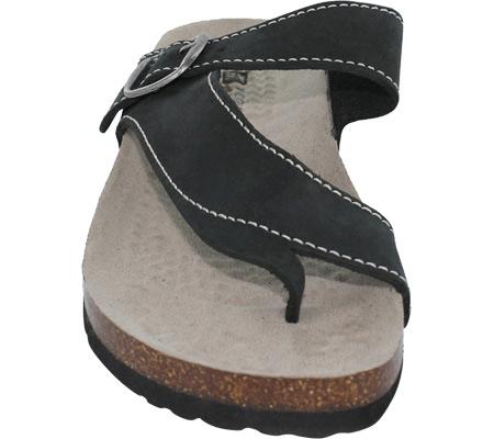 Women's White Mountain Carly, Black Leather, large, image 4