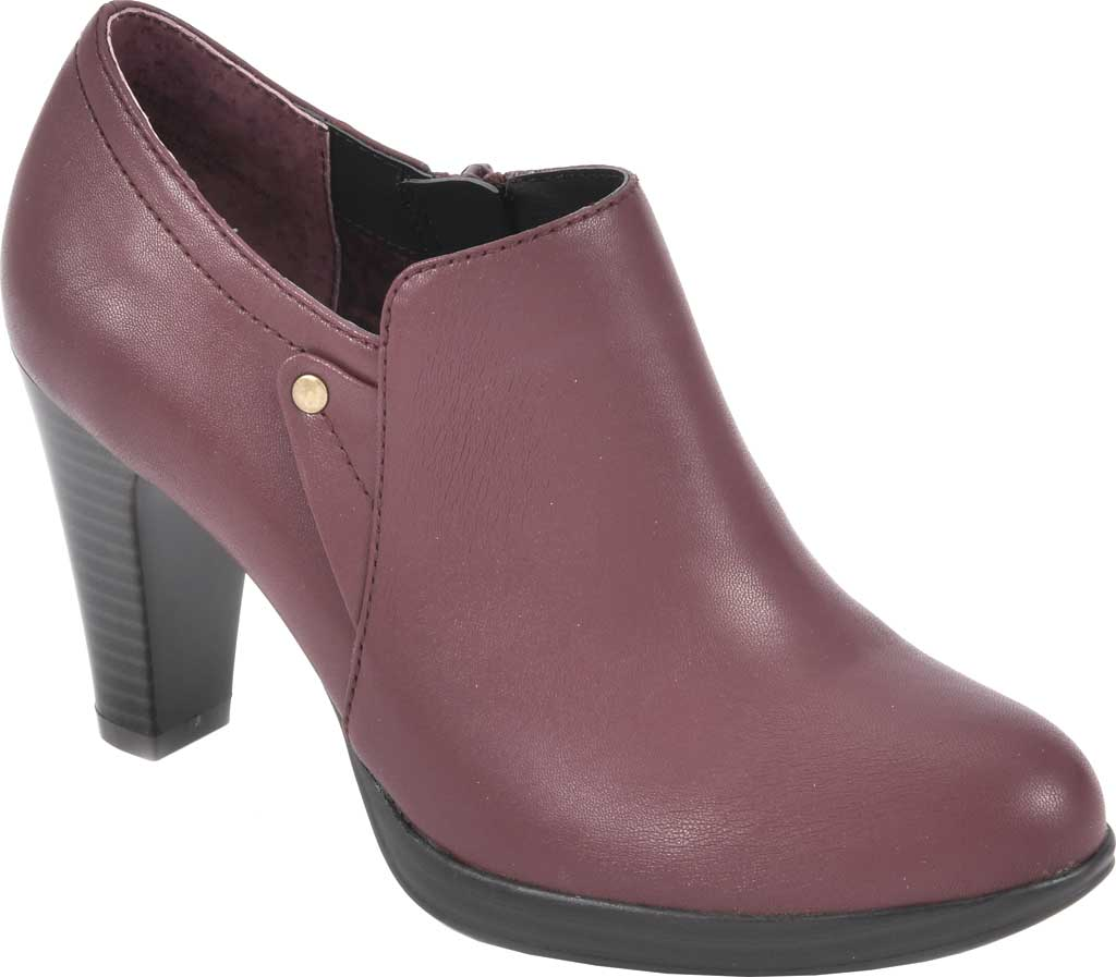 Women's Rialto Phiona, Merlot Smooth Faux Leather, large, image 1