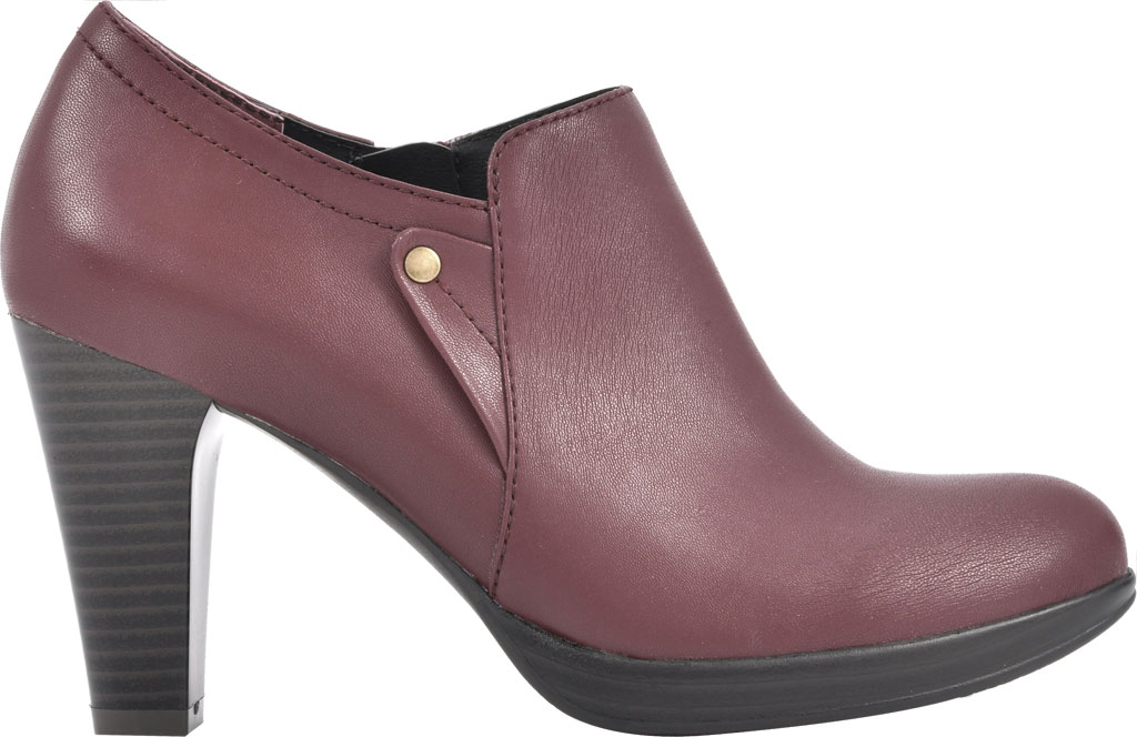 Women's Rialto Phiona, Merlot Smooth Faux Leather, large, image 2