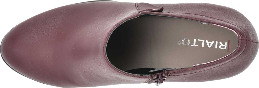 Women's Rialto Phiona, Merlot Smooth Faux Leather, large, image 5