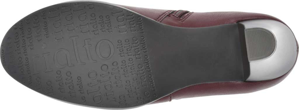 Women's Rialto Phiona, Merlot Smooth Faux Leather, large, image 6