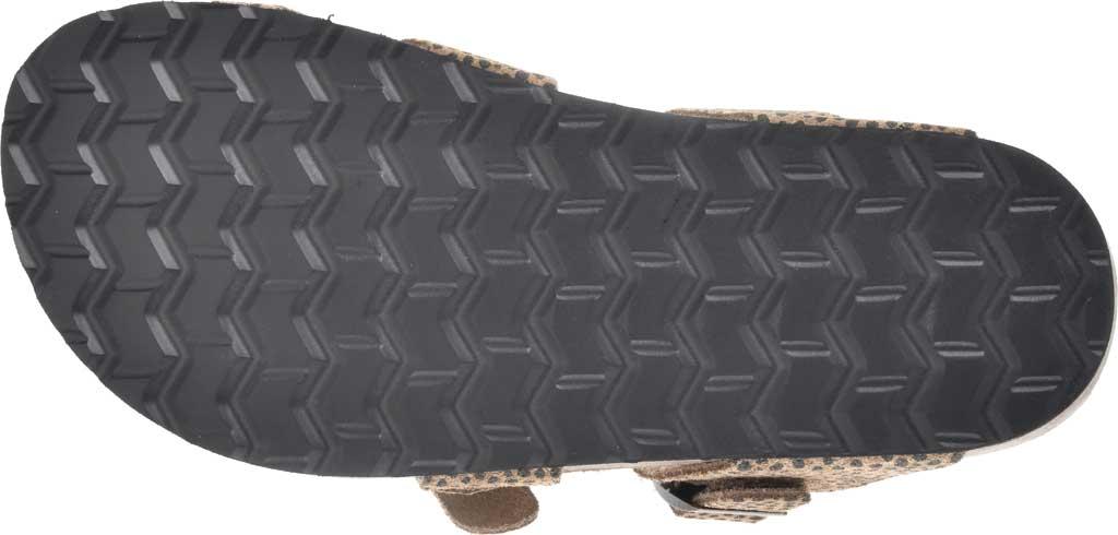 Women's White Mountain Gracie Toe Loop Sandal, Tan Mini Cheetah Print Suede, large, image 6