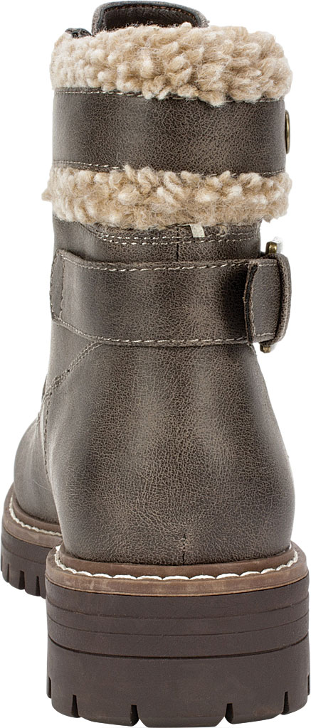Women's Cliffs by White Mountain Meldon Lace Up Ankle Boot, Stone Fabric, large, image 4