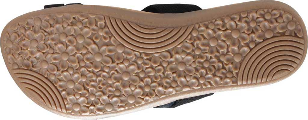 Women's Cliffs by White Mountain Farris Slide, Black Microsuede Fabric, large, image 6