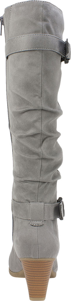 Women's Rialto Farewell Tall Boot, Light Grey Suedette Fabric, large, image 4