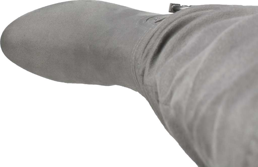 Women's Rialto Farewell Tall Boot, Light Grey Suedette Fabric, large, image 5