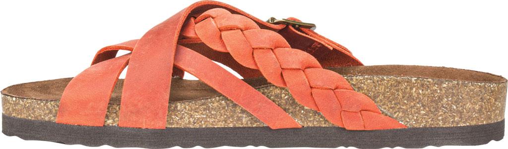 Women's White Mountain Harrington Slide, Rust Crazy Horse Leather, large, image 3