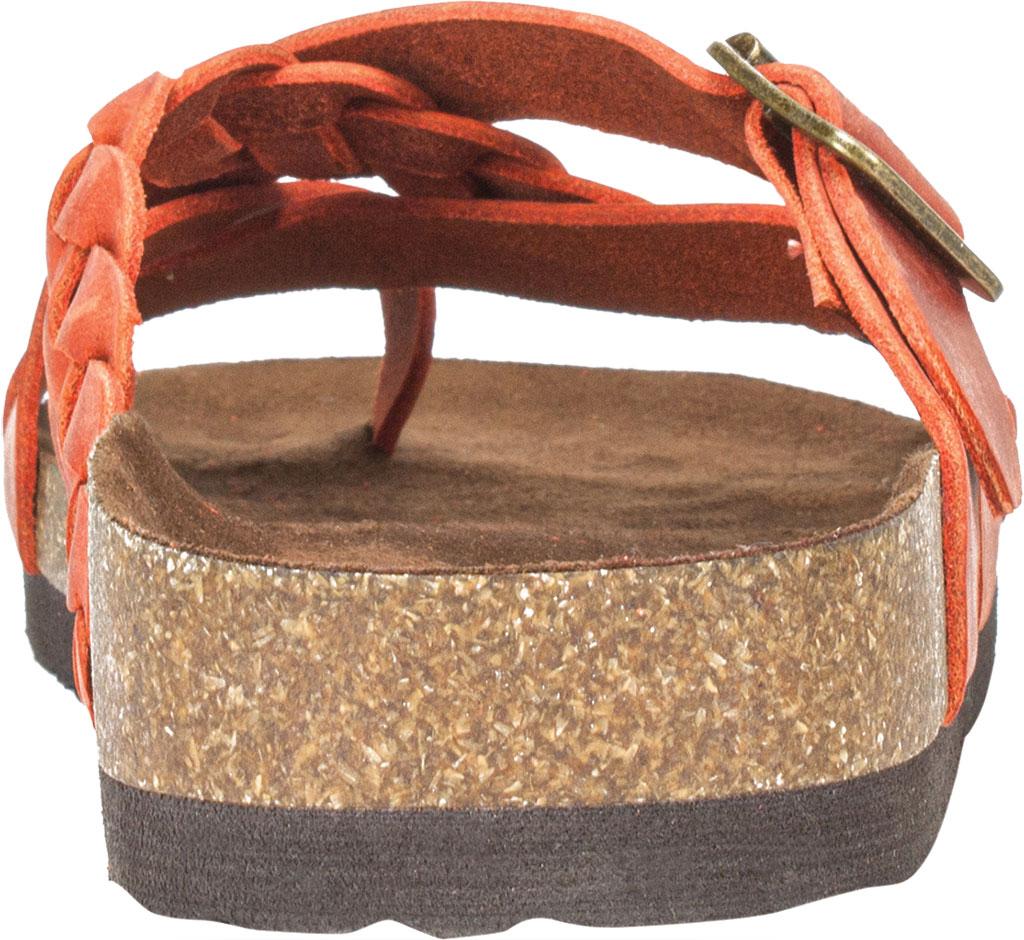 Women's White Mountain Harrington Slide, Rust Crazy Horse Leather, large, image 4