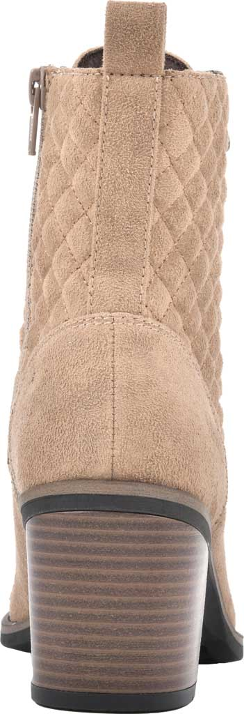 Women's White Mountain Dorsett Heeled Ankle Bootie, Chestnut Waxy Suedette, large, image 4