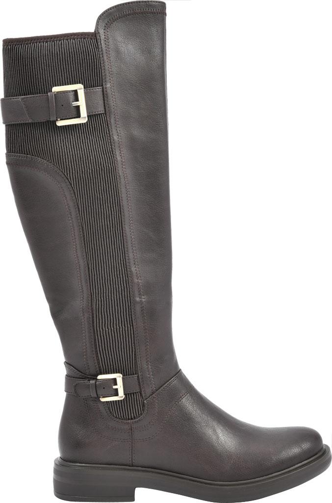Women's White Mountain Meditate Knee High Boot, Dark Brown Smooth Tumbled Polyurethane, large, image 2