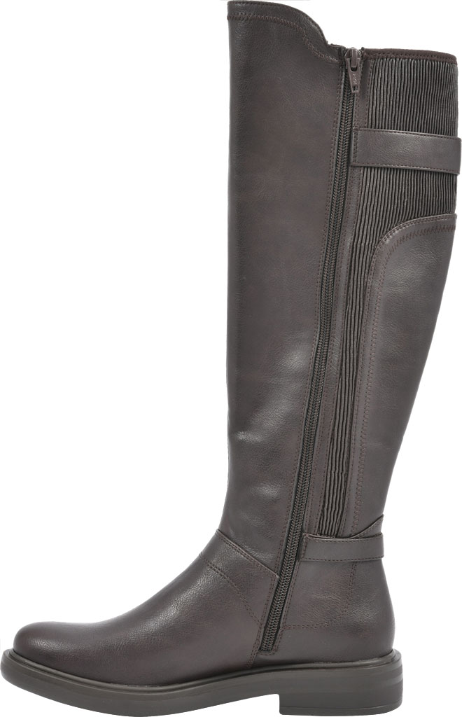 Women's White Mountain Meditate Knee High Boot, Dark Brown Smooth Tumbled Polyurethane, large, image 3