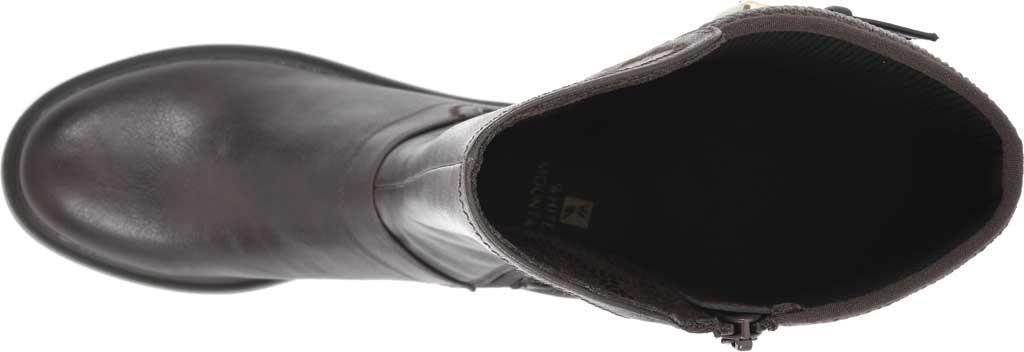 Women's White Mountain Meditate Knee High Boot, Dark Brown Smooth Tumbled Polyurethane, large, image 5