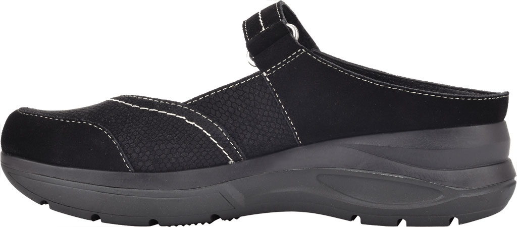 Women's White Mountain Fit Platform Mary Jane, Black Win Suede/Jervis Suede, large, image 3