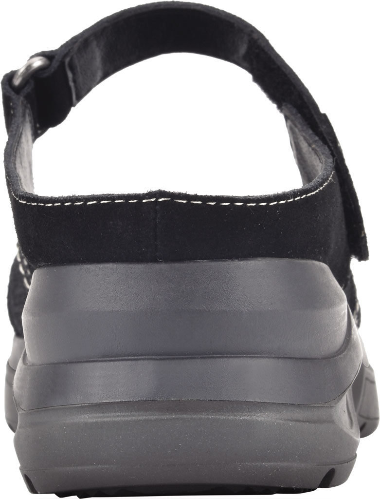 Women's White Mountain Fit Platform Mary Jane, Black Win Suede/Jervis Suede, large, image 4