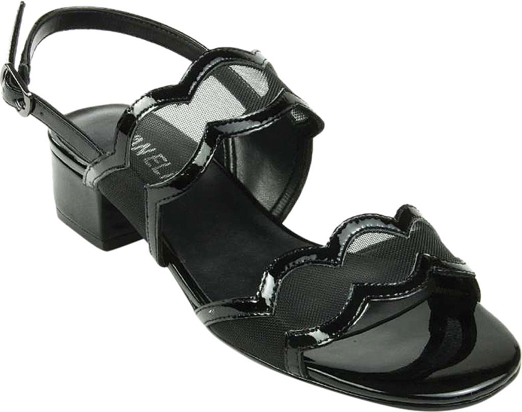 Women's VANELi Hesper Slingback Sandal, Black Patent Leather, large, image 1