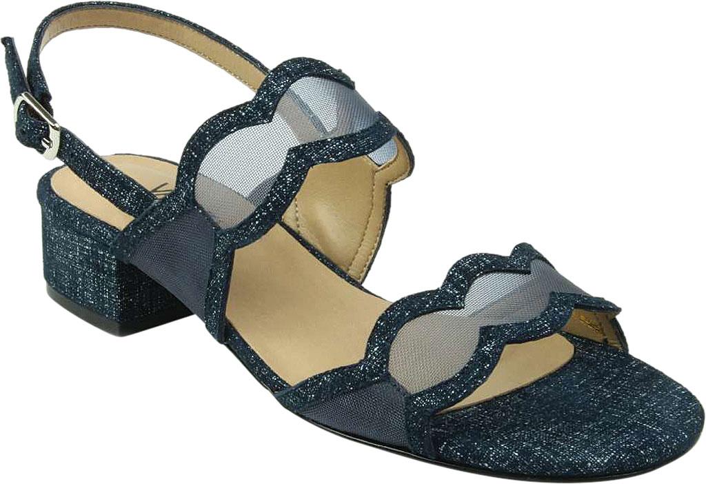 Women's VANELi Hesper Slingback Sandal, Jeans Lino Print Suede, large, image 1