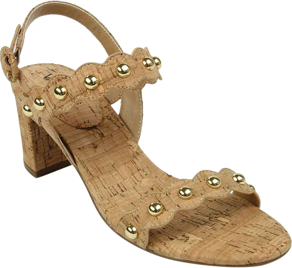 Women's VANELi Mavis Heeled Slingback Sandal, Natural Cork, large, image 1