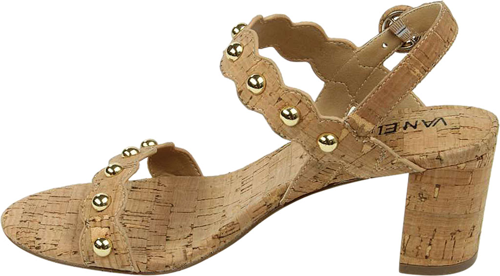 Women's VANELi Mavis Heeled Slingback Sandal, Natural Cork, large, image 3